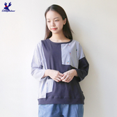 【早秋新品】American Bluedeer - 滑雪人條紋衣 秋冬新款