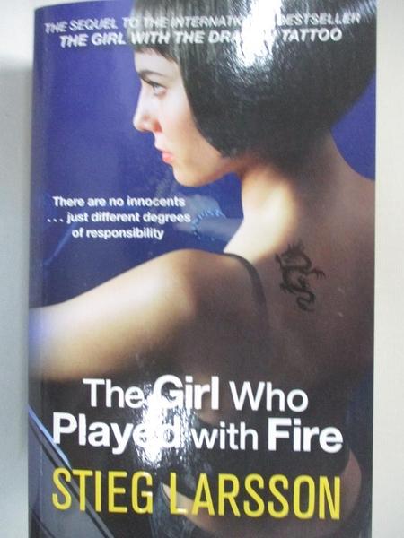 【書寶二手書T7/原文小說_ICP】The Girl Who Played with Fire_Stieg Larsson
