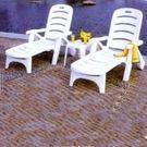 休閒躺椅│陽光折合扶手躺椅.戶外睡床椅....