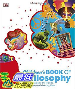 [106美國直購] 2017美國暢銷兒童書 Children s Book of Philosophy Hardcover