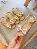 女童涼鞋2020新款時尚網紅爆款兒童夏天防滑軟底小童寶寶公主涼鞋 滿天星