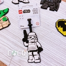 LEGO樂高 STAR WARS 星際大戰 白兵 人偶造型行李吊牌 掛飾吊飾 COCOS LG287