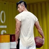 排汗衣 運動健身背心男高彈速干衣無袖短袖