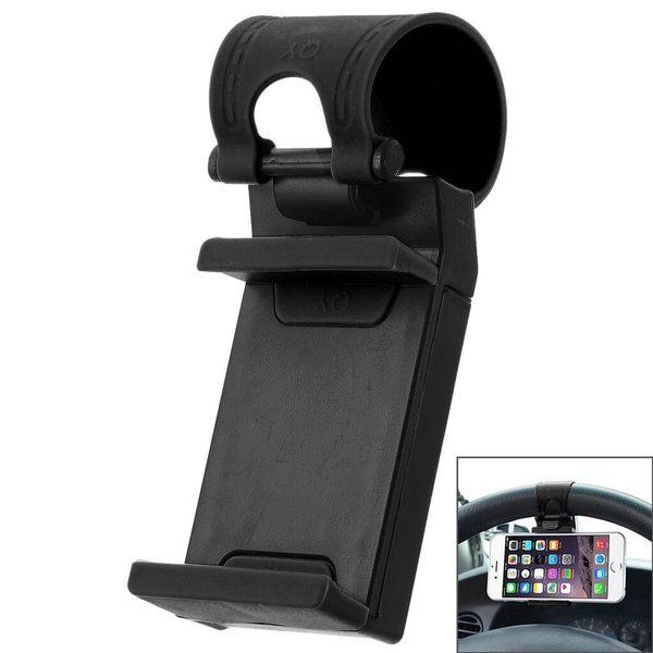 方向盤手機夾 汽車手機架 汽車方向盤手機支架 車載手機支架 方向盤支架