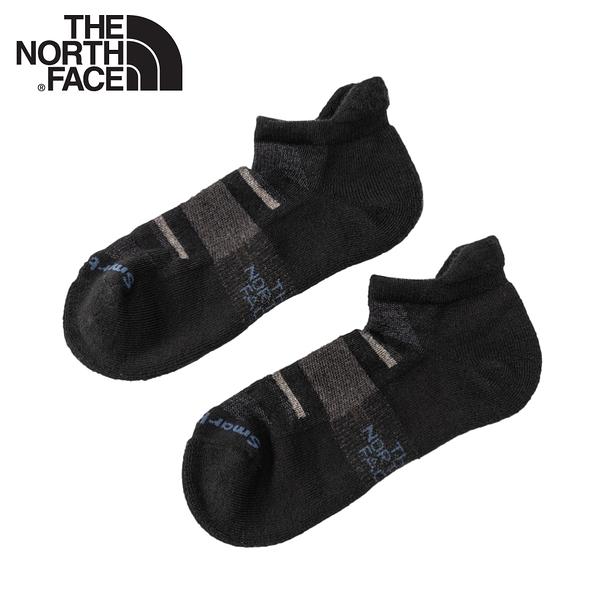 【The North Face 運動羊毛跑步襪《黑》】3CNN/美麗諾羊毛襪子/吸濕透氣/耐磨/短襪/襪子/跑步