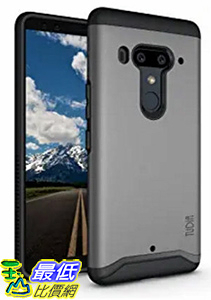 [8美國直購] 手機保護殼 HTC U12 Plus Case 灰色 / U12+ Case, TUDIA [MERGE Series] Heavy Duty Extreme Protection