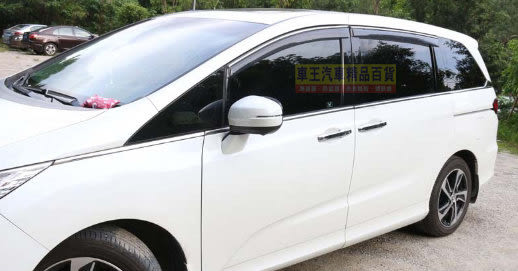 【車王小舖】本田 Honda ODYSSEY晴雨窗 ODYSSEY卡扣式晴雨窗 ODYSSEY鍍鉻邊晴雨窗 一組四片