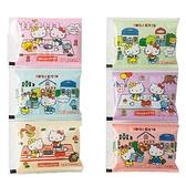 小禮堂 Hello Kitty 日製 方形透明保冷劑組 保冰劑 冰敷袋 冰墊 (6入 粉 野餐) 4901367-04360