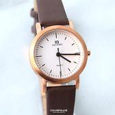 手錶 正韓DON BOSCO簡約皮革腕錶 柒彩年代【NEK9】單支