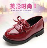 公主鞋春季女童皮鞋新品正韓流蘇兒童公主鞋英倫風單鞋黑色中大童全館滿千88折