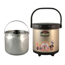 [家事達] THERMOS 膳魔師 不銹鋼高真空燜燒鍋(4.5L) 特價