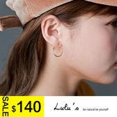 LULUS N 韓製簡單百搭小圓圈耳環2色現預~08060110 ~