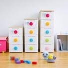 愛麗思收納櫃多層塑料彩扣抽屜式寶寶衣櫃玩具整理櫃子儲物櫃YXS 交換禮物』