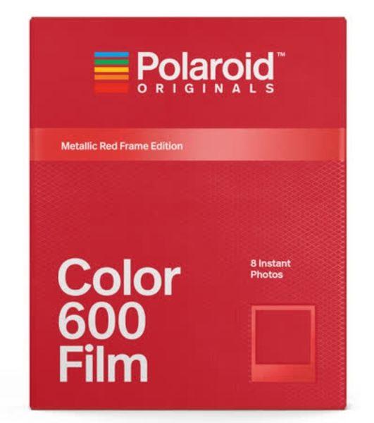 Polaroid Color Film for 600 彩色底片(金屬紅框版4858)/2盒