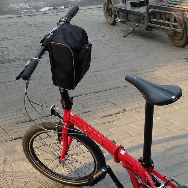 摺疊自行車車頭包代駕電動車電池包特大號掛包大容量車前包車把包
