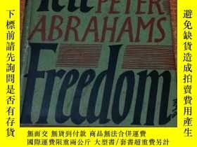 二手書博民逛書店TELL罕見FREEDOM by PETER ABRAHAMS