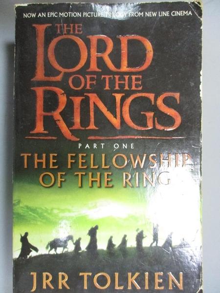 【書寶二手書T1/原文小說_LKA】The Lord of The Rings:The Fellowship of the Ring_JRR TOLKIEN