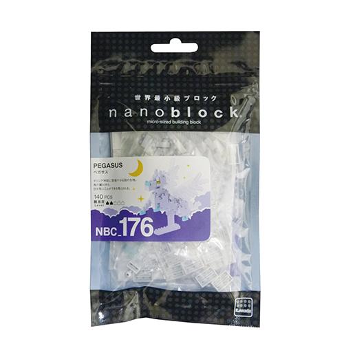 《 Nano Block 迷你積木 》NBC-176 帕格薩斯飛馬╭★ JOYBUS玩具百貨