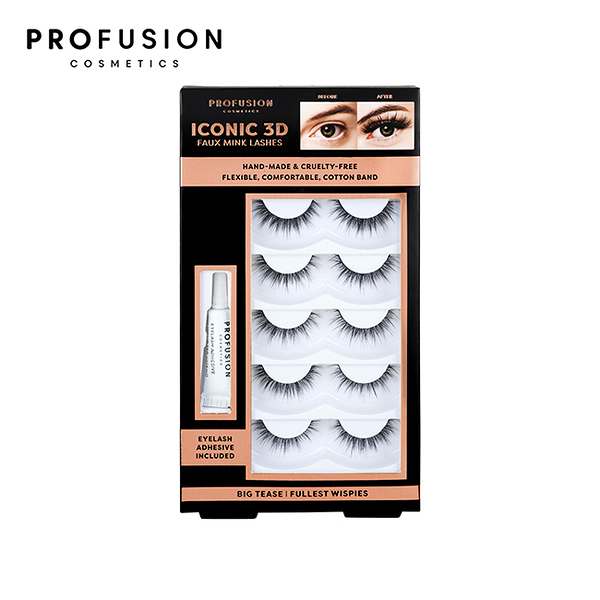 PROFUSION 3D假睫毛(5對入)-輕盈電眼