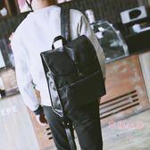 正韓男後背包商務英倫男士背包休閒皮包電腦包學生書包潮男旅行包
