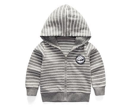 黑五好物節 兒童外套男春秋季拉鏈衫寶寶外套男童裝連帽外套春裝 森活雜貨