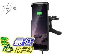 [106美國直購] XVIDA 車用無線充電組(iPhone 7 Plus)支架式 Charging Car Kit Vent Mount