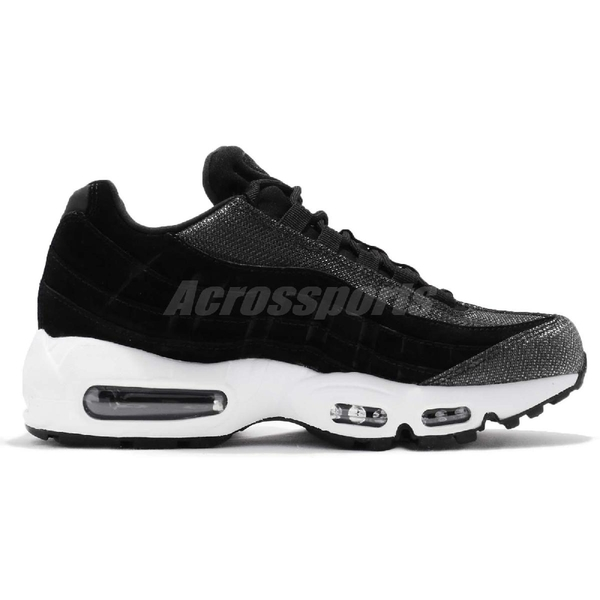 【六折特賣】Nike 休閒鞋 Wmns Air Max 95 PRM 黑 白 氣墊 復古慢跑鞋 運動鞋 女鞋【ACS】 807443-014