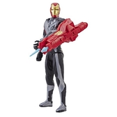 孩之寶 HASBRO 漫威復仇者聯盟電影4電子泰坦英雄- 鋼鐵人