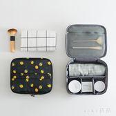韓版多格旅行收納整理盒化妝品袋大號手提便攜防水化妝包 nm4670【VIKI菈菈】