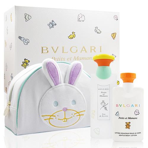 BVLGARI 寶格麗 甜蜜寶貝禮盒(100ml淡香水+75ml身體乳) [QEM-girl]