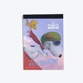 《sun-star》SNOOPY-史努比 The Peanuts Movie系列迷你便條本(飛行巴黎)★funbox生活用品★_OP47822