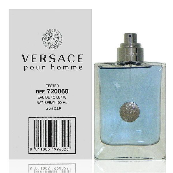 Versace Pour Homme 凡賽斯經典男性淡香水 100ml Test 包裝