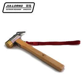 丹大戶外 【嘉隆】ZAZEMU ZR-110 不鏽鋼鍛造銅槌