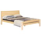 【藝匠】雲杉5尺雙人床台/架 實木 床組 床上 原木 床架 房間