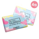 康寶秀面族日式袖珍包面紙 4入/包