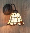 超實惠 帝凡尼工藝燈飾 彩色玻璃燈具/歐式簡約壁燈/臥室/走廊/樓梯壁燈