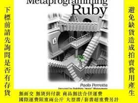 二手書博民逛書店Metaprogramming罕見RubyY364682 Paolo Perrotta Pragmatic B