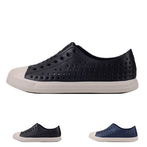 男款 洞洞鞋 COQUI雨天必備品休閒防水造型 洞洞鞋 59鞋廊