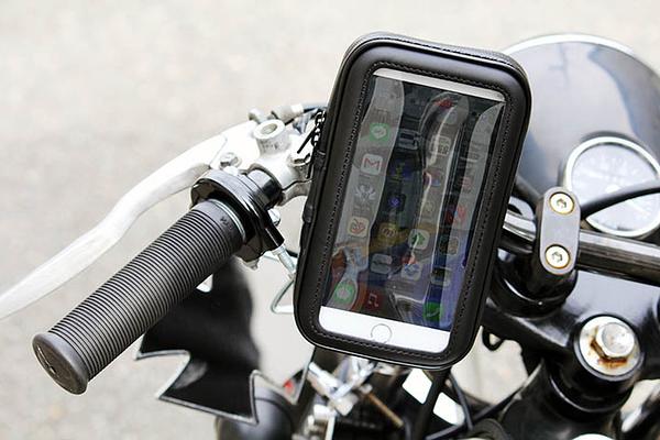 iphone7 iphone8 Mate 30手機車防水包支架手機套防水殼手機架腳踏車摩托車導航重機車架手機座固定架