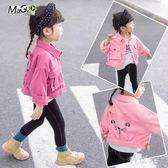 中大尺碼女童春裝洋氣短款牛仔外套兒童2019新款時尚韓版長袖上衣寶寶開衫 GW73『科炫3C』