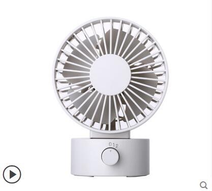 小風扇usb迷你可攜式靜音辦公室桌上宿舍床頭臺式隨身雙葉小電風扇手機散熱台扇4寸