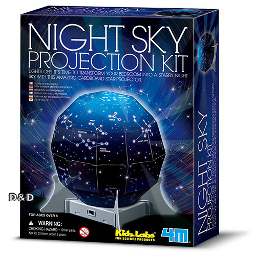 《4M科學探索》創意星空 Create A Night Sky Projection Kit╭★ JOYBUS玩具百貨