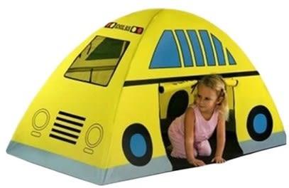 [協貿國際]  幼兒園寶寶活動城堡小車屋兒童遊戲帳篷 (1入)