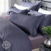 【HOYACASA】繁星夜曲雙人四件式300織長纖細棉被套床包組