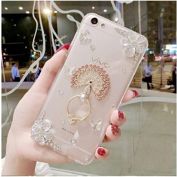 蘋果 IPhone12 Pro Max iPhone11 12mini XS X XR SE2 i8 i7 Plus i6S 手機殼 水鑽殼 客製 手做 花朵愛心支架