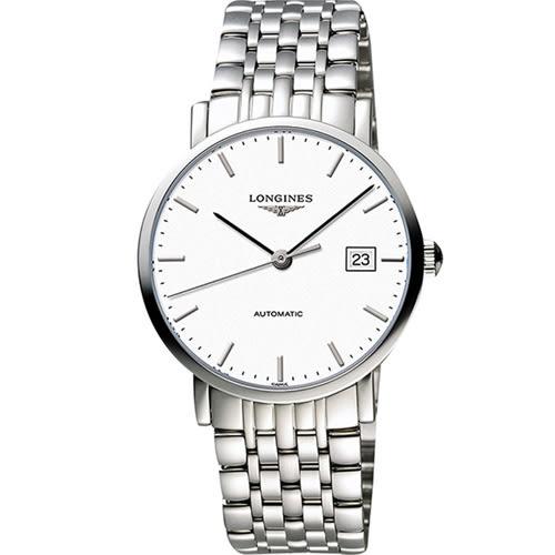 浪琴 LONGINES 優雅系列紳士機械腕錶 L49104126