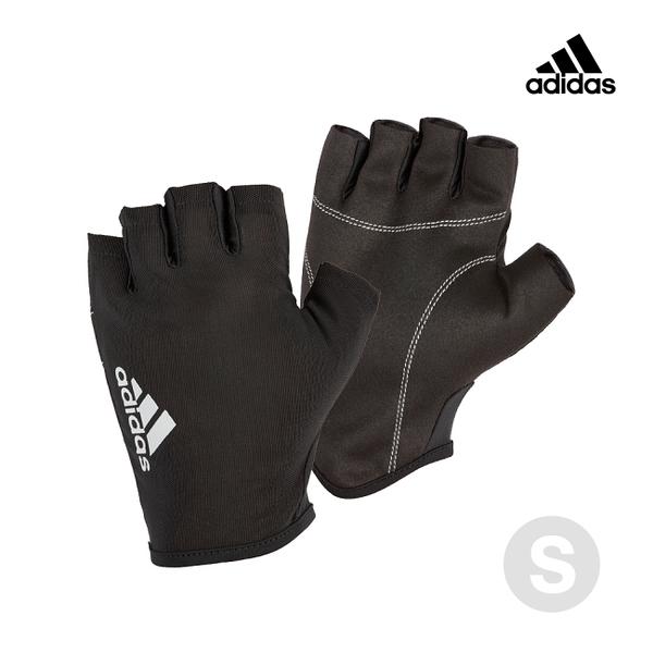 Adidas Training- 初階透氣半指手套(流星灰)-S