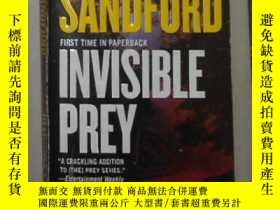 二手書博民逛書店英文原版罕見Invisible Prey by John San