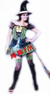 綠裙女巫套裝Witch