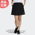 【現貨】ADIDAS TECH 女裝 短褲 休閒 慢跑 仿裙子 口袋 黑【運動世界】GP0649